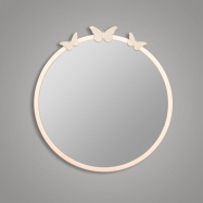 Espejo de forja Mariposas