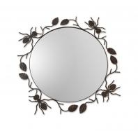 Espejo de forja Hormigas
