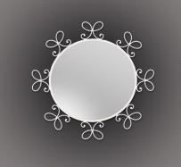 Espejo de forja Mariposa-Forja