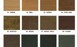 Barnizados y Lacados para la madera (MENÚ)