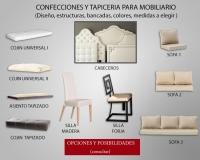 Tapicería - Confección Mobiliario