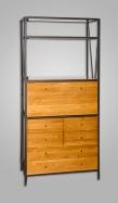 Mueble forja-madera