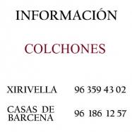 Información Colchones