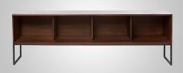 Mesa TV en forja-madera 02