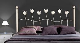Cabecero de forja Tulipan