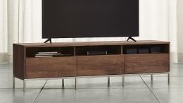 Mesa TV en forja-madera 01
