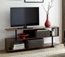Mesa TV en forja-madera 03