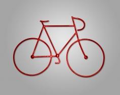 Figura de forja Bicicleta I