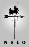 Veleta de forja Quijote y Sancho