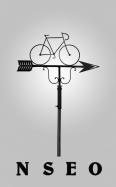 Veleta de forja Bicicleta