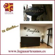 Cartel de forja Magdala