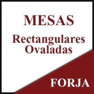 Mesas rectangulares-ovaladas