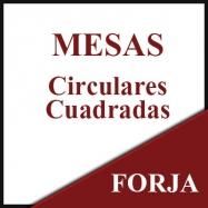 Mesas circulares-cuadradas