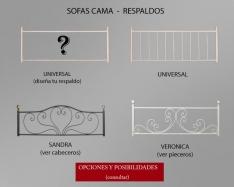 Respaldos: Sofá-Cama y Divanes