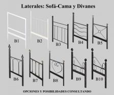 Laterales: Sofá-Cama y Divanes