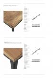 Tapas madera pino - roble macizo