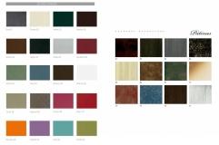 Colores Standard y Pátinas