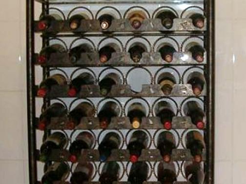 Botellero de forja Africa I