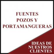 Fuentes, pozos y portamangueras