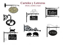 Letreros de forja Personalizados
