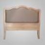 Cabecero de madera-tapizado