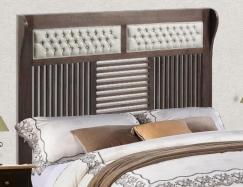 Cabecero tapizado-madera