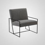 Sofá de forja tapizado 02