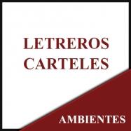 Letreros - Carteles