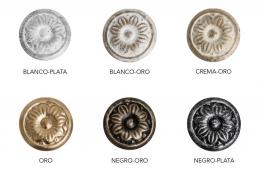 Metálicos decorados y acabados (MENÚ)