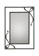 Espejo de forja Dona