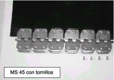 Grapas con tornillos MS