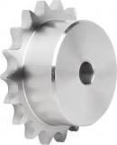 Piñones simples en acero inoxidable AISI 304 L