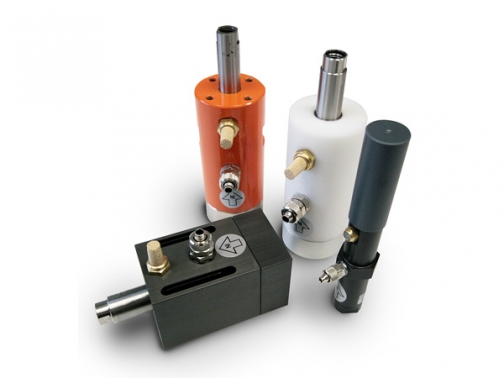 Vibradores neumáticos con amortiguador de aire ajustable F