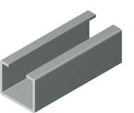 Perfil de metal para guías C-10/11 / CI-10/11