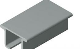 Perfil de metal para guías CI-16/CIE-16
