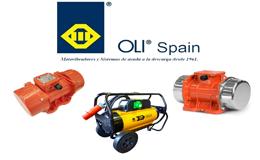 Vibradores industriales, sistemas de ayuda a las descargas y consolidación de hormigón.