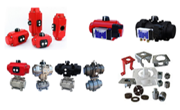 Actuadores rotativos, neumáticos y eléctricos PRISMA