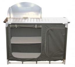 Mueble cocina aluminio Midland