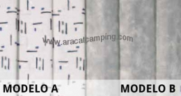 Cortinas Leinwand Mod.A / Mod.B