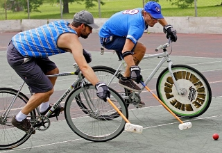 I Torneo Bikepolo San Bartolo en Gavín (Huesca)