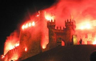 Noche templaria en Ponferrada (León)