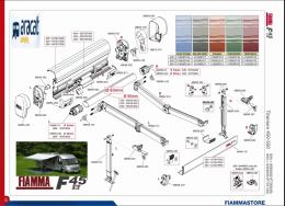 RECAMBIOS FIAMMA F45 Ti L