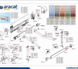 RECAMBIOS FIAMMA ZIP 400-450