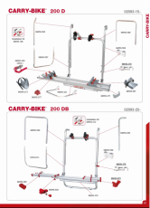 RECAMBIOS CARRY BIKE 200 D / 200 DB