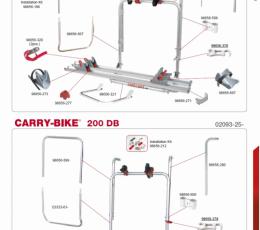 RECAMBIOS CARRY BIKE 200 D / 200 DB