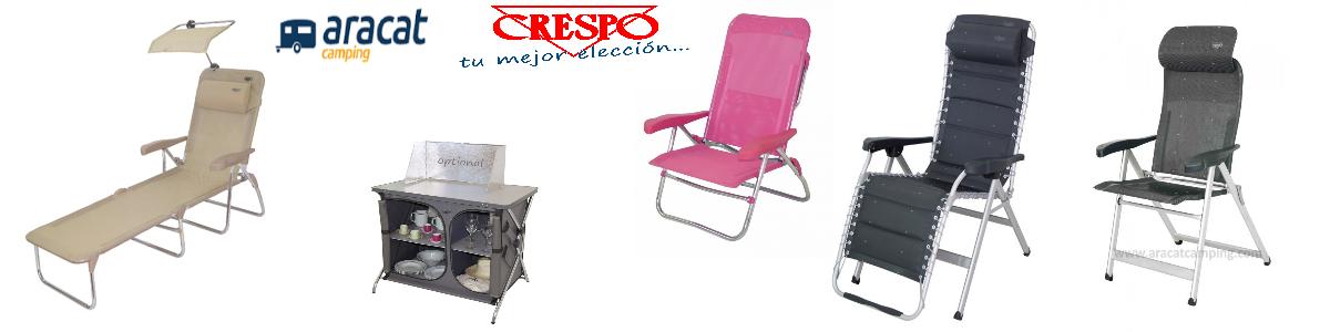 CRESPO MOBILIARIO PARA EL CAMPING