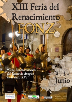 XIII FERIA DEL RENACIMIENTO - Fonz (Huesca), 1 al 3 de Junio 2018