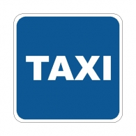 Lugar reservado para taxis