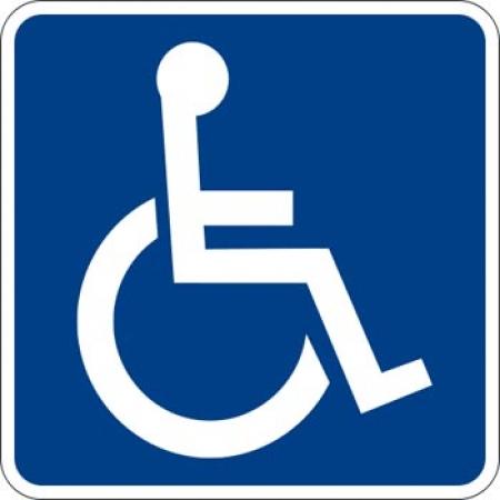 Estacionamiento reservado para minúsvalidos