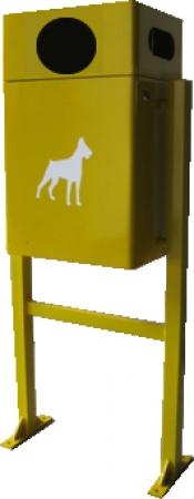 Papelera Golden